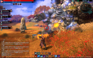 「TERA」The Exiled Realm of Arboreaのゲーム画面「」