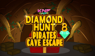 Diamond Hunt 8 Pirates Cave Escapeのゲーム画面「 Diamond Hunt 8 Pirates Cave Escape」