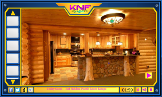 Knf Escape from Log houseのゲーム画面「Knf Escape from Log house」