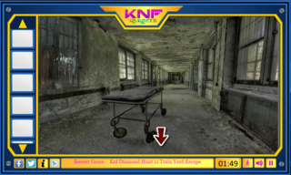 Knf Old Creepy Mental Hospital Escapeのゲーム画面「」