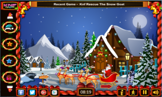 Knf Santa Claus Christmas Gift Escapeのゲーム画面「Knf Santa Claus Christmas Gift Escape 」