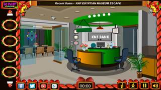 Knf Bank Robbery Escapeのゲーム画面「Bank Robbery Escape」