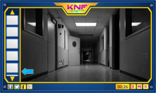 Knf Abandoned Hospital Escapeのゲーム画面「Hospital Escape」
