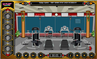 KNF Escape From The Gymのゲーム画面「KNF Escape From The Gym」