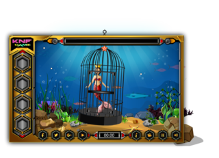 Knf Mermaid Escape From SeaShoreのゲーム画面「Knf Mermaid Escape From SeaShore」