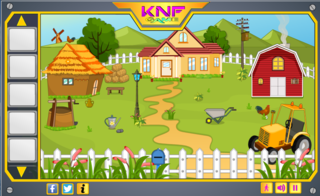 KNF Little Johny -House escapeのゲーム画面「KNF Little Johny -House escape」