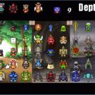 召喚できるモンスターは45種類!