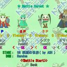 キャラクター選択画面( ※ これはオフライン用、オンラインもほぼ同様 )