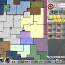 戦略ゲーム画面