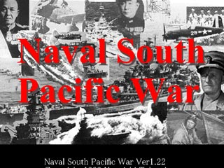 Naval South Pacific Warのゲーム画面「表紙」
