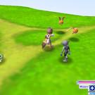 ルカ村までのフィールド画面では敵が出現する