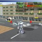 ロボットを操縦してステージ内の全ターゲットを破壊する