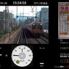 阪神1000系快速急行運転画面