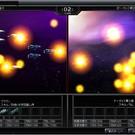 ブラウザ銀河大戦の戦闘シーン