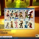 ロストサーガのゲーム画面