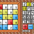 パネルを選んで素数をつくろう。