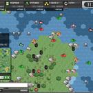 大戦略WEBのゲーム画面