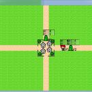 マップ上のキャラクタを上手く誘導し、敵を全滅させる