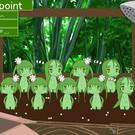 土の種類で違うアルラウネちゃんが育つ!