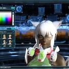 PSO2のゲーム画面