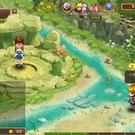 リゾン戦記のゲーム画面