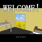 脱出ゲームのタイトル画面です。