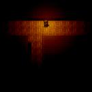 暗闇の中、ライトを使いながら探索していく
