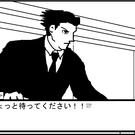 プレイヤーは法廷で被告人を弁護します。