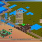 箱庭系の戦略シミュレーションゲームです