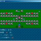 敵との戦闘は、方向キーを動かすだけで遊べます。