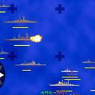 大艦隊の接近戦。お互いガンガン撃ち合います。