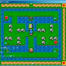 基本的に戦闘は移動キーだけで遊べる簡単操作。