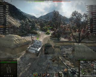 World of Tanksのゲーム画面「World of Tanks」