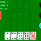 ゲーム画面です。カードをドラッグしてボードに配置します。