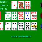 カードを配置し終わると役に応じて得点が得られます。