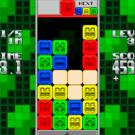 同色ブロック3つ以上隣接で消去。