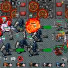 戦闘ではオートバトルで敵味方の攻撃が飛び交います。