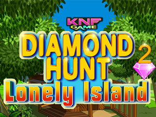 Diamond Hunt 2 Lonely Islandのゲーム画面「Knf Diamond Hunt 2 : Lonely Island 」