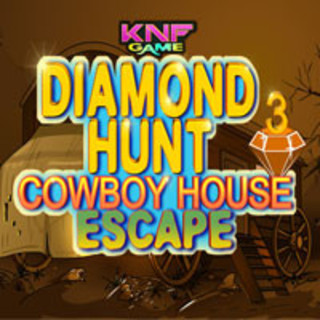 Diamond Hunt 3 Cowboy House Escapeのゲーム画面「Diamond Hunt 3 Cowboy House Escape」