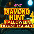 Diamond Hunt 4 Halloween House Escape