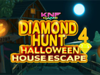 Diamond Hunt 4 Halloween House Escapeのゲーム画面「Diamond Hunt 4 Halloween House Escape」