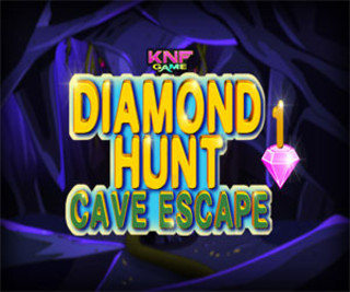 Diamond Hunt 1Cave Escapeのゲーム画面「Diamond Hunt 1Cave Escape」