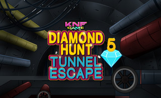 Diamond Hunt 5 Drainage Tunnel Escapeのゲーム画面「Diamond Hunt 5 Drainage Tunnel Escape」