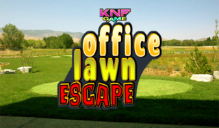 Office lawn Escape 2のゲーム画面「Office lawn Escape 2」