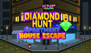 Diamond Hunt 6 Apartment House Escapeのゲーム画面「Knf Diamond Hunt 6 : Apartment House Escape」
