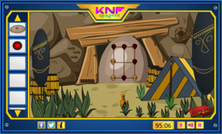 Diamond Hunt 7 Mayan Cave Escapeのゲーム画面「Diamond Hunt 7 Mayan Cave Escape」
