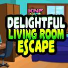 Delightful Living Room Escape