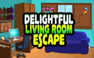 Delightful Living Room Escapeのゲーム画面「Delightful Living Room Escape」