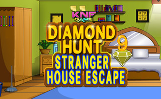 Diamond Hunt 9 Stranger House Escapeのゲーム画面「Diamond Hunt 9 : Stranger House Escape」