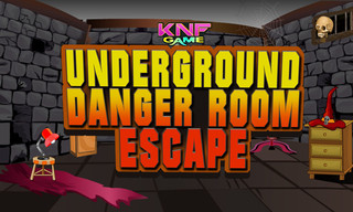 Underground Danger Room Escapeのゲーム画面「Underground Danger Room Escape」